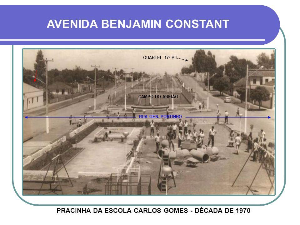 PRACINHA DA ESCOLA CARLOS GOMES - DÉCADA DE 1970