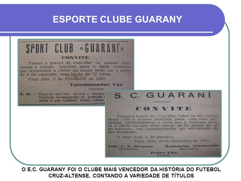 ESPORTE CLUBE GUARANY