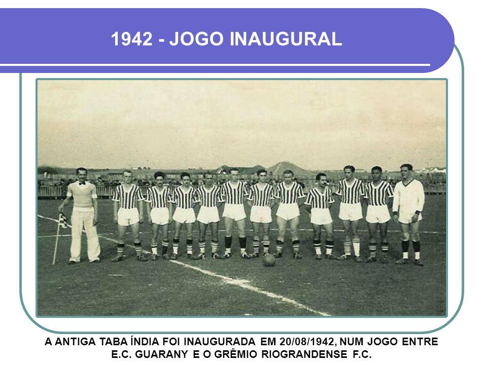 1942 - JOGO INAUGURAL