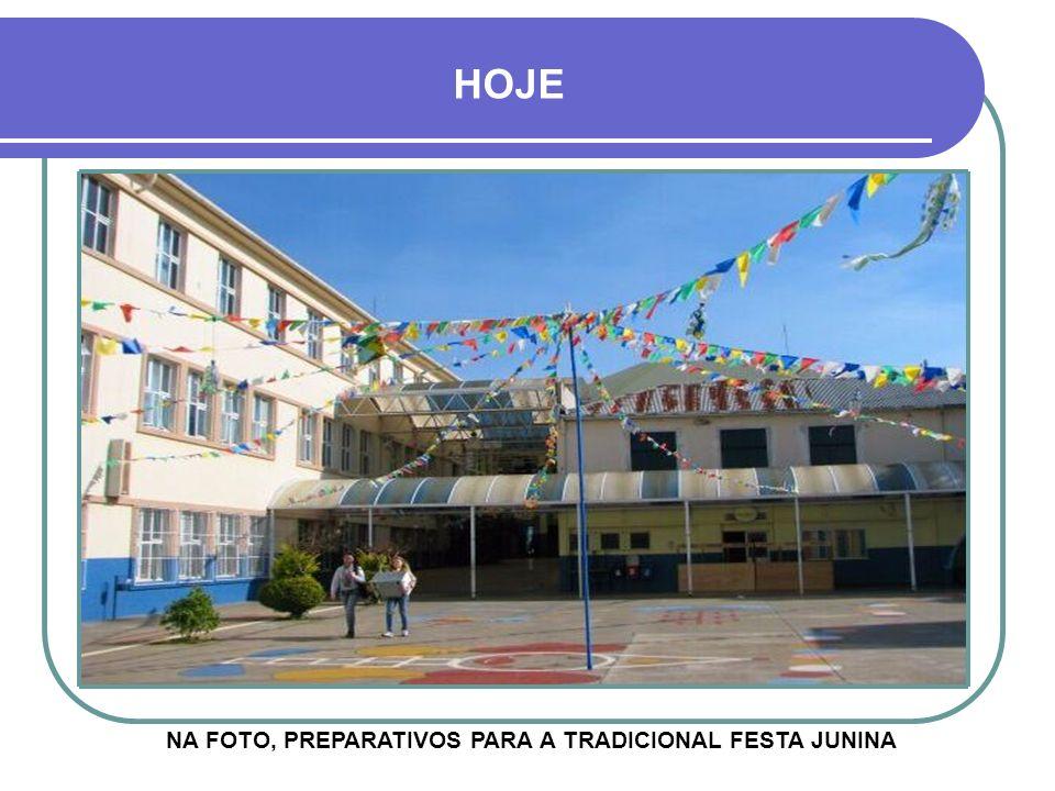 NA FOTO, PREPARATIVOS PARA A TRADICIONAL FESTA JUNINA