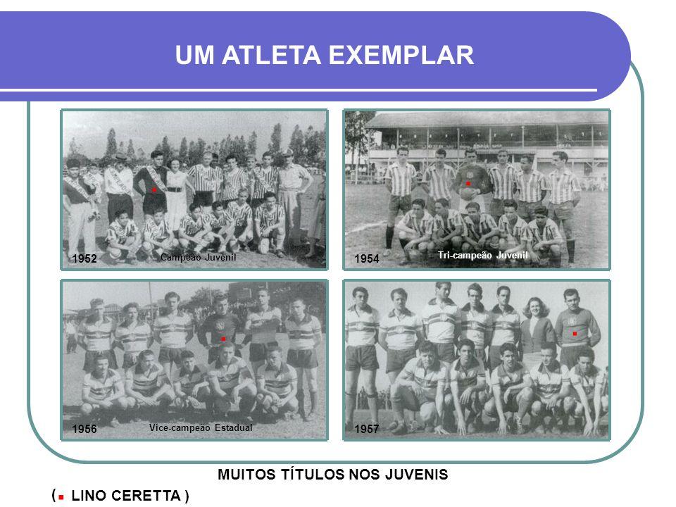 Vice-campeão Estadual MUITOS TÍTULOS NOS JUVENIS
