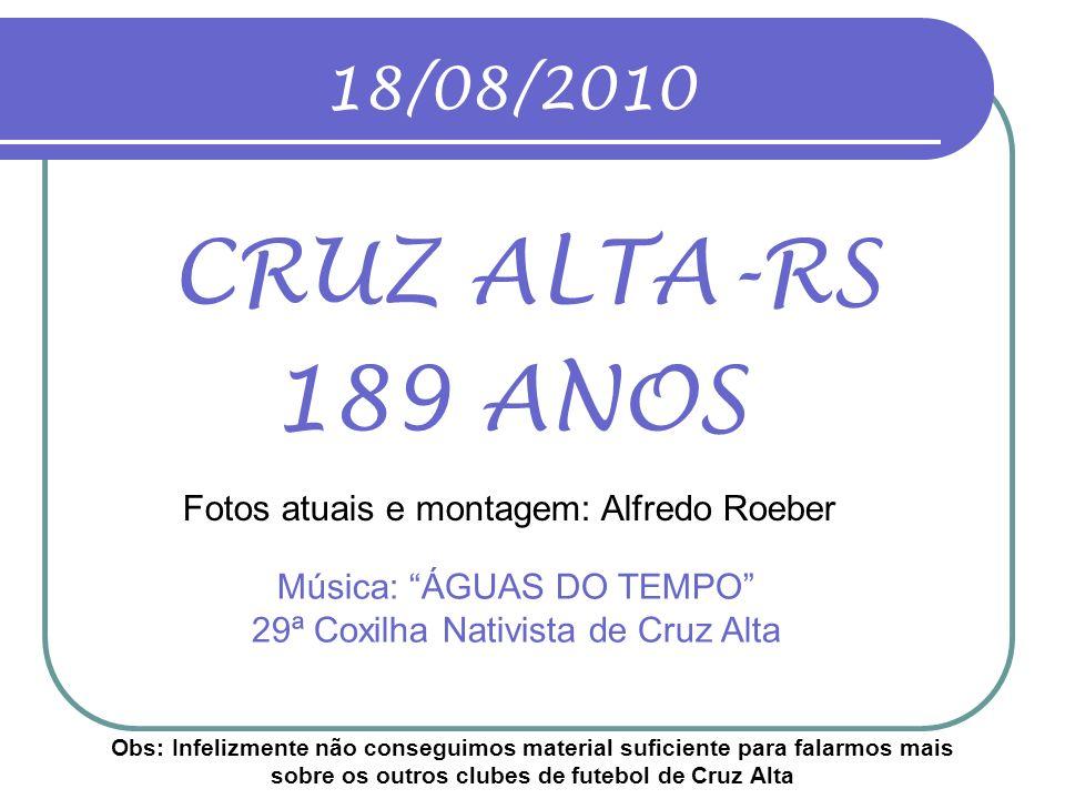 Música: ÁGUAS DO TEMPO 29ª Coxilha Nativista de Cruz Alta