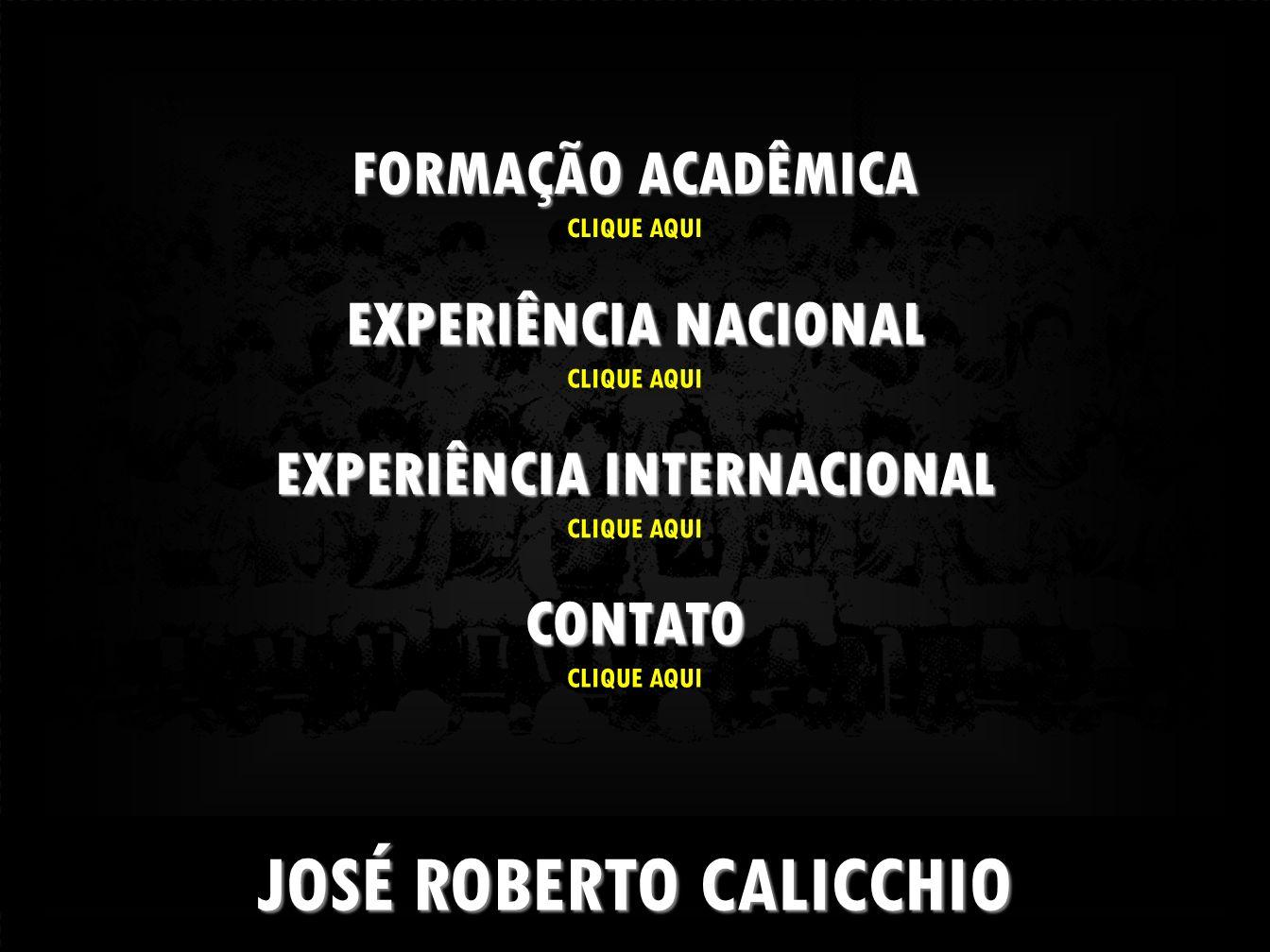 JOSÉ ROBERTO CALICCHIO