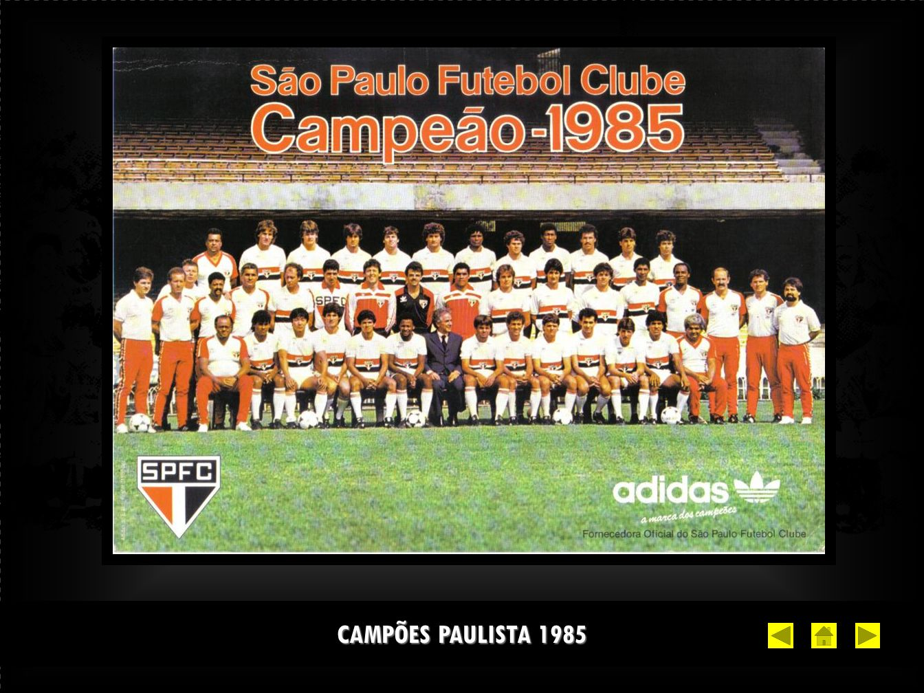 CAMPÕES PAULISTA 1985