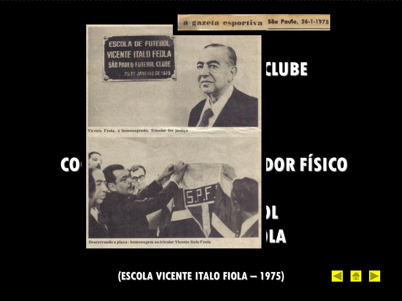 (ESCOLA VICENTE ITALO FIOLA – 1975)