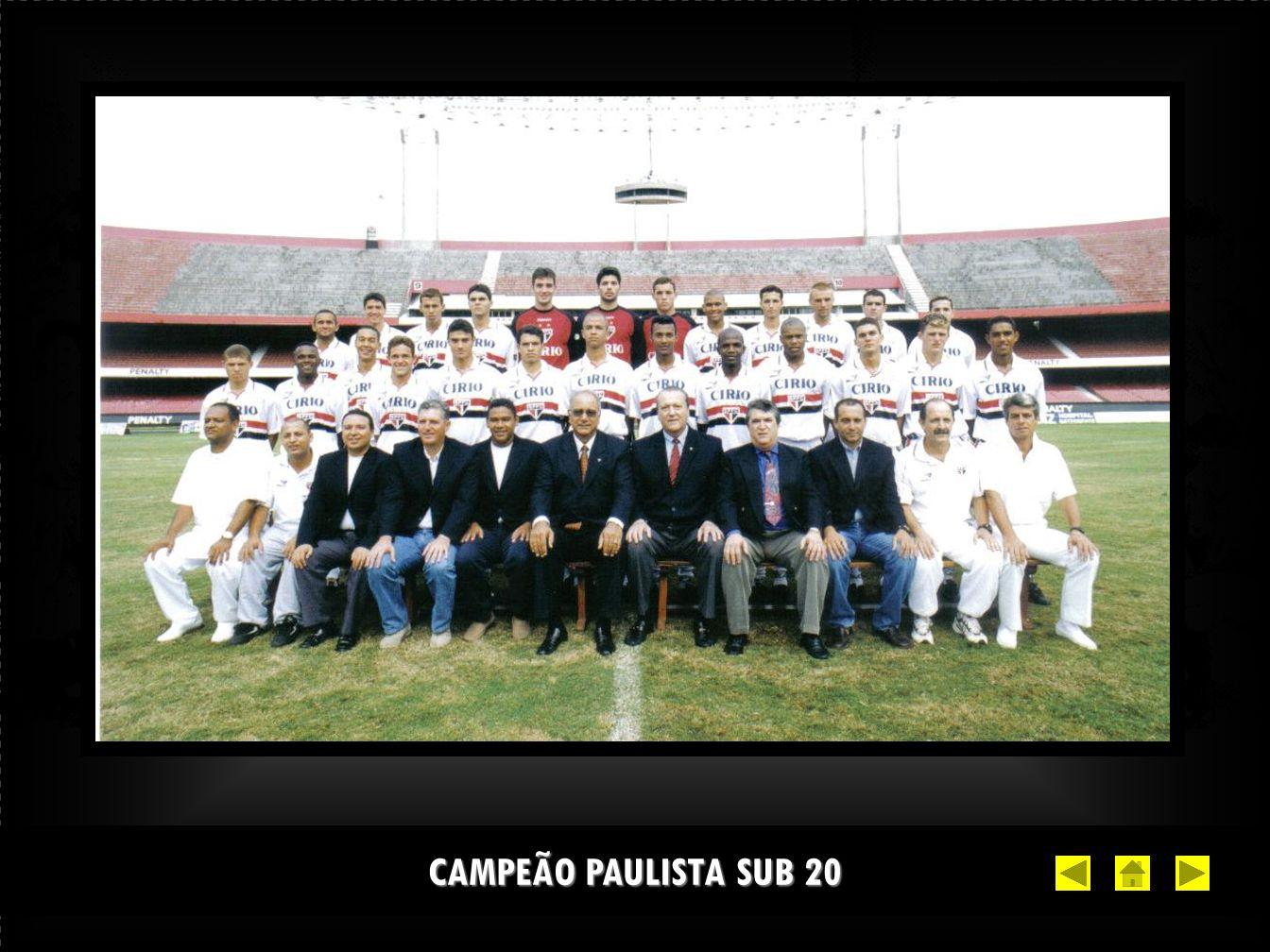 CAMPEÃO PAULISTA SUB 20