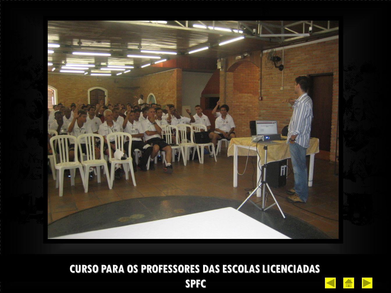 CURSO PARA OS PROFESSORES DAS ESCOLAS LICENCIADAS