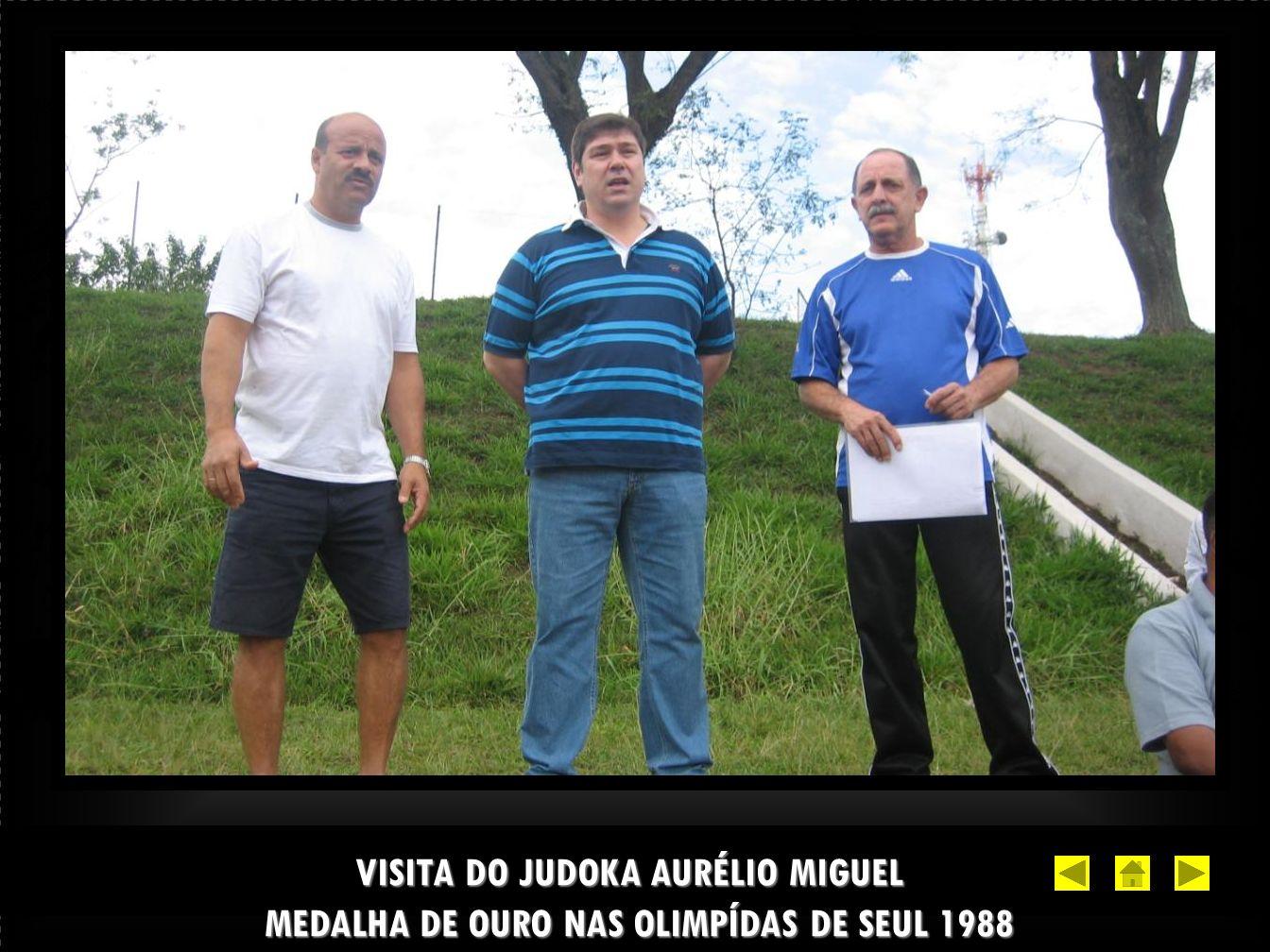 VISITA DO JUDOKA AURÉLIO MIGUEL