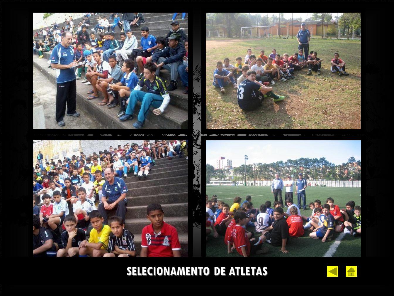 SELECIONAMENTO DE ATLETAS