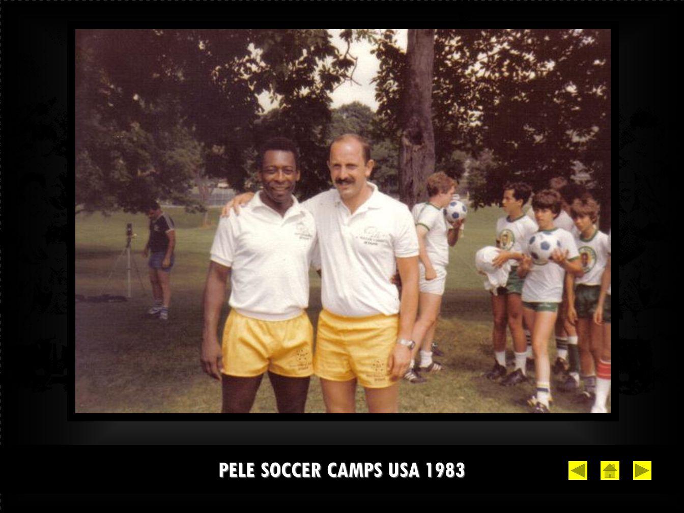 PELE SOCCER CAMPS USA 1983