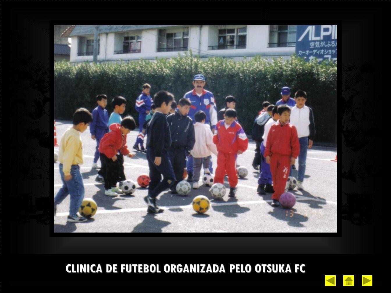CLINICA DE FUTEBOL ORGANIZADA PELO OTSUKA FC