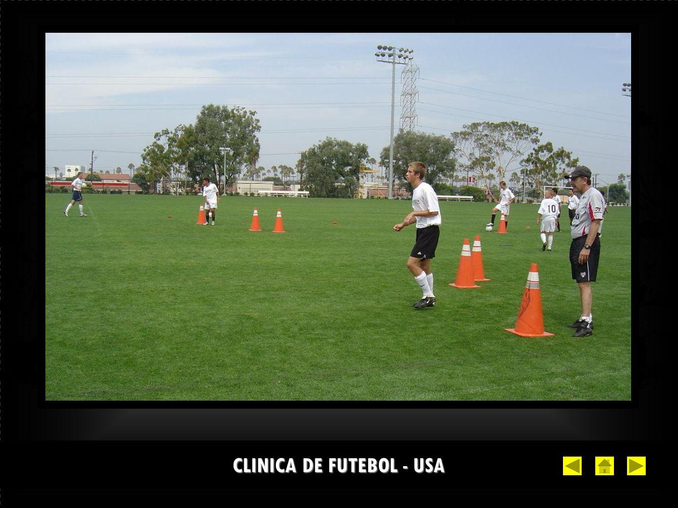 CLINICA DE FUTEBOL - USA