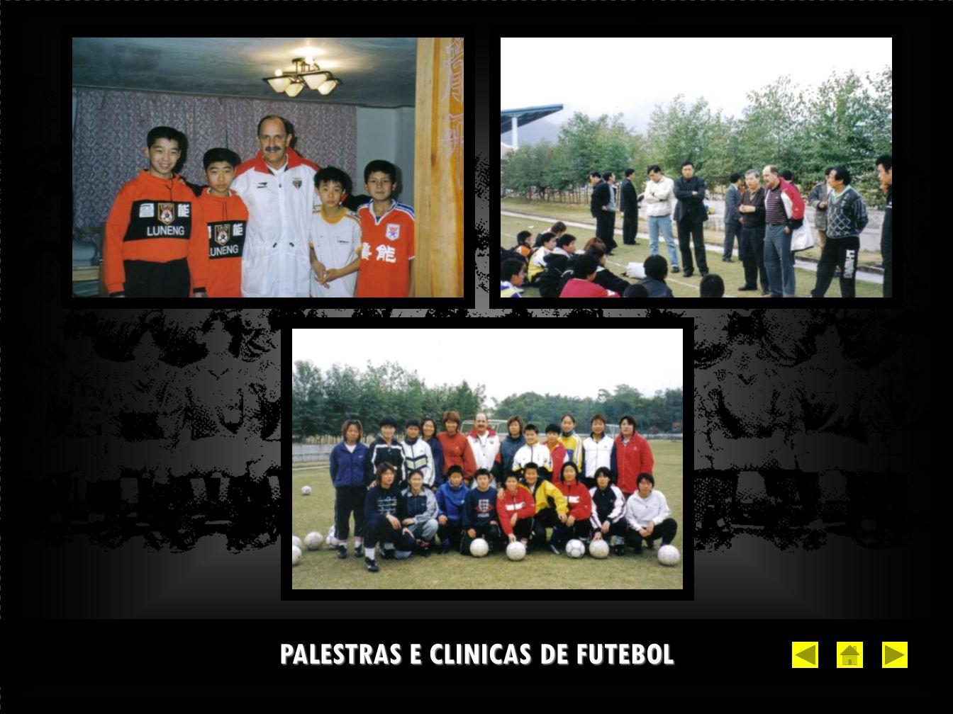 PALESTRAS E CLINICAS DE FUTEBOL