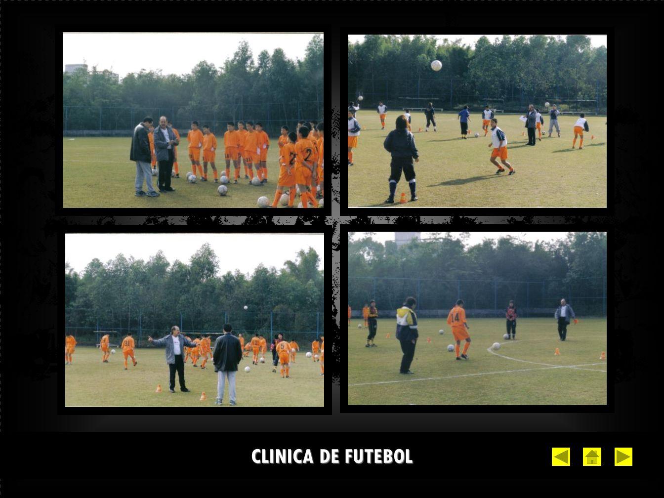 CLINICA DE FUTEBOL