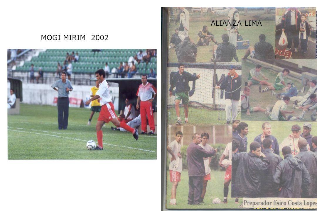 ALIANZA LIMA MOGI MIRIM 2002