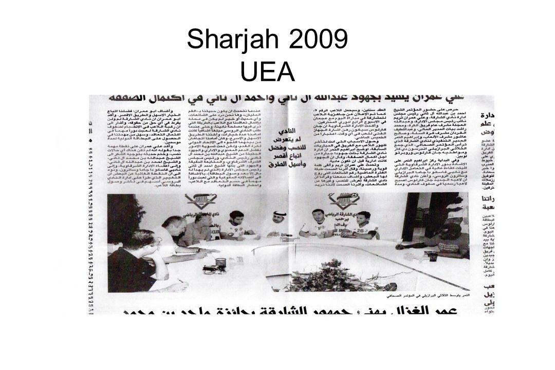Sharjah 2009 UEA