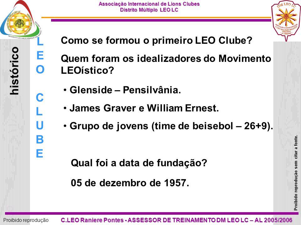 LEO histórico CLUBE Como se formou o primeiro LEO Clube
