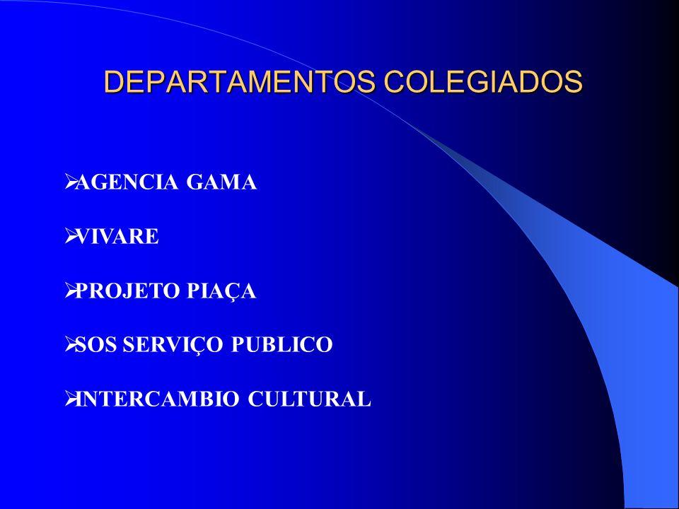DEPARTAMENTOS COLEGIADOS