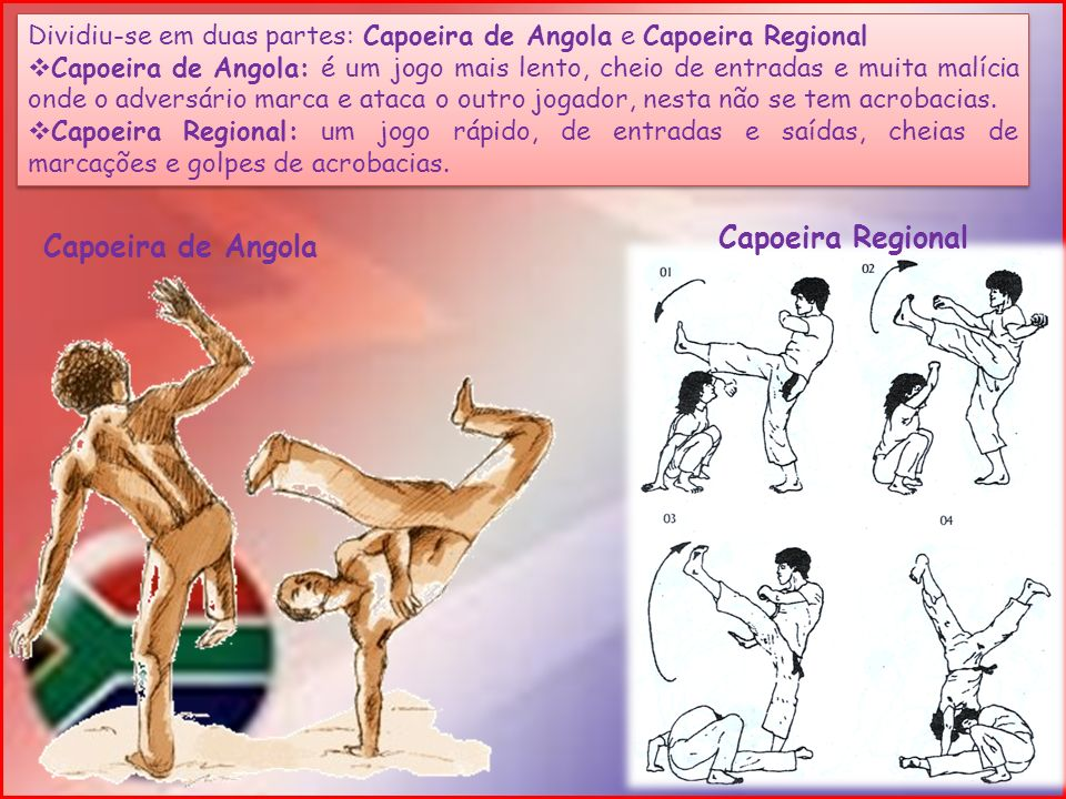 Capoeira Regional Capoeira de Angola