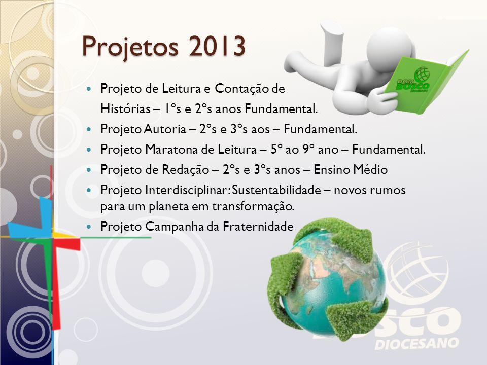 Projetos 2013 Projeto de Leitura e Contação de