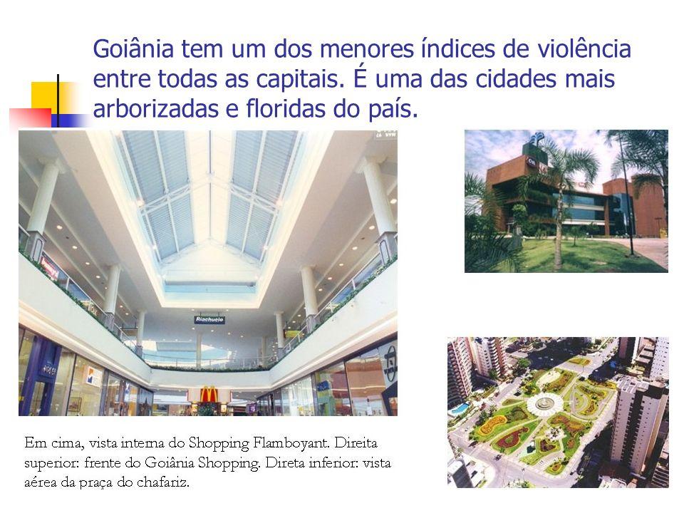 Goiânia tem um dos menores índices de violência entre todas as capitais.