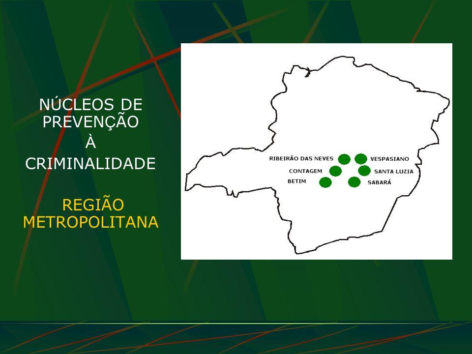 NÚCLEOS DE PREVENÇÃO À CRIMINALIDADE REGIÃO METROPOLITANA