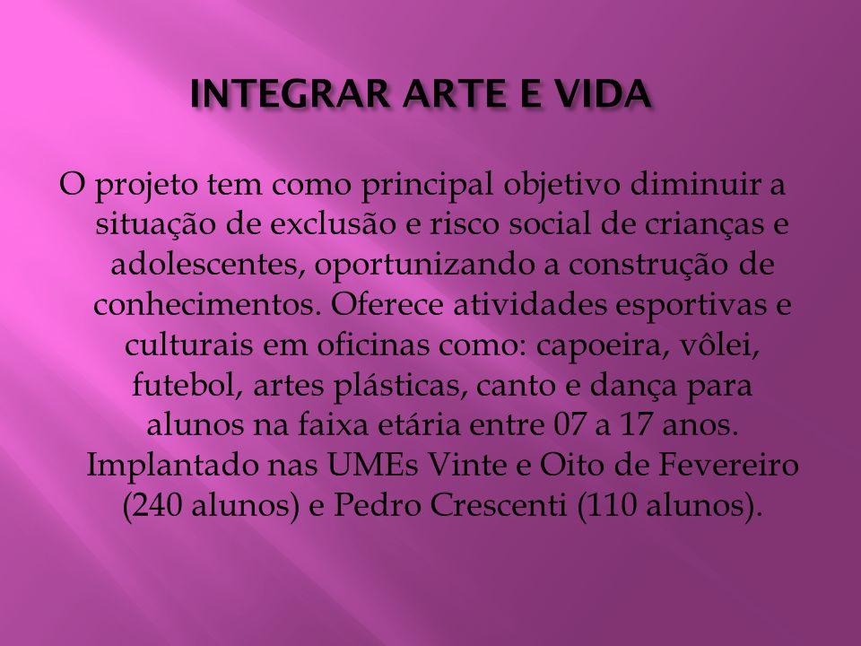 INTEGRAR ARTE E VIDA