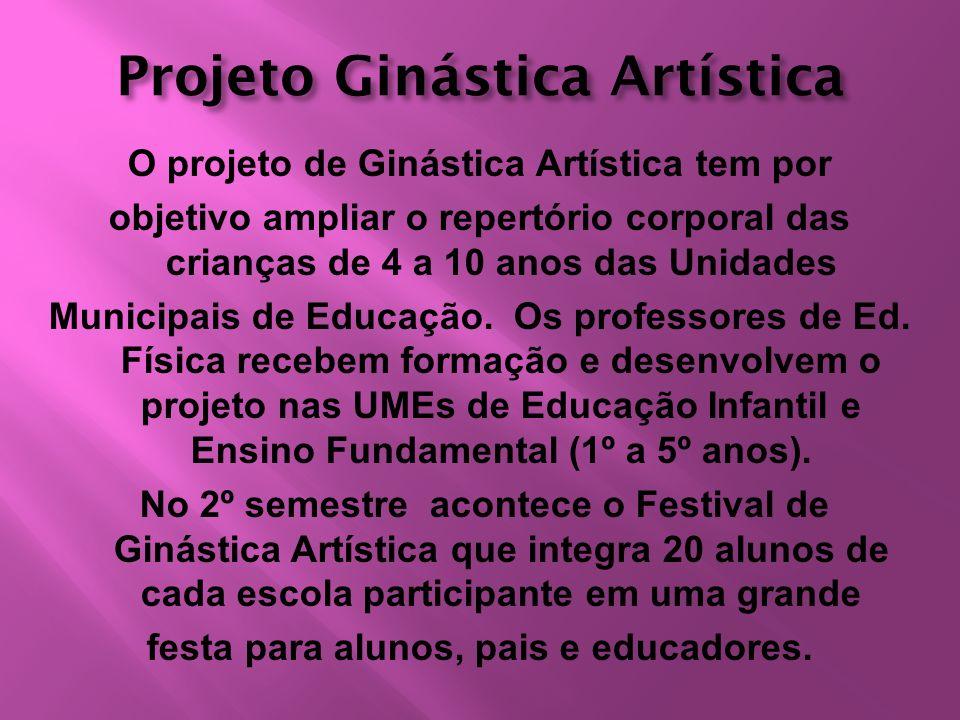 Projeto Ginástica Artística