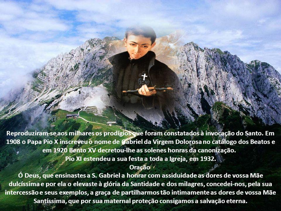 Pio XI estendeu a sua festa a toda a Igreja, em 1932.