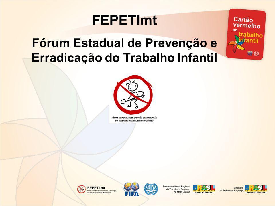 Fórum Estadual de Prevenção e Erradicação do Trabalho Infantil
