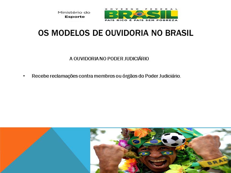 Os modelos de Ouvidoria no Brasil