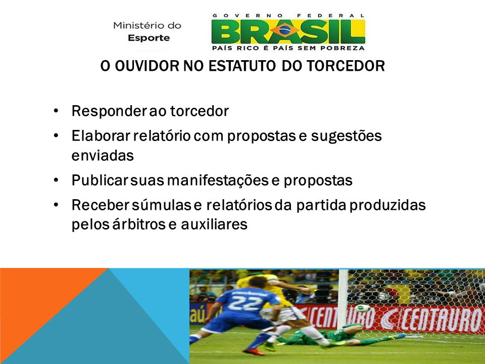 o Ouvidor no Estatuto do Torcedor