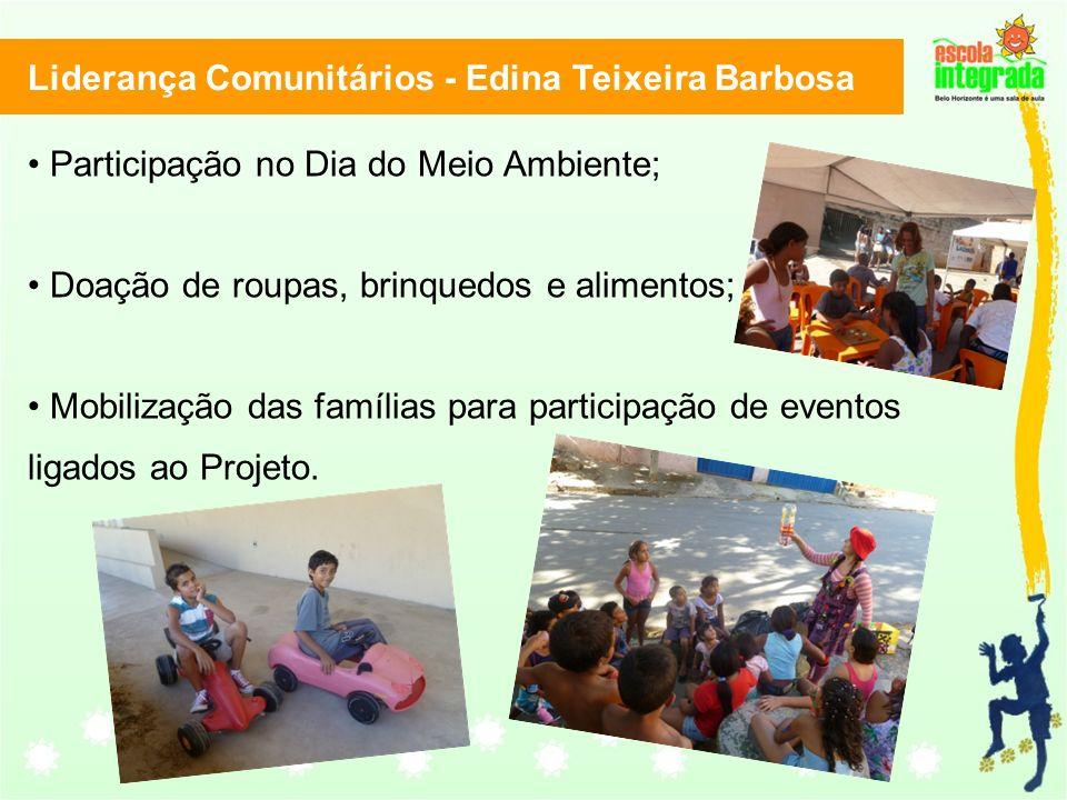 Liderança Comunitários - Edina Teixeira Barbosa