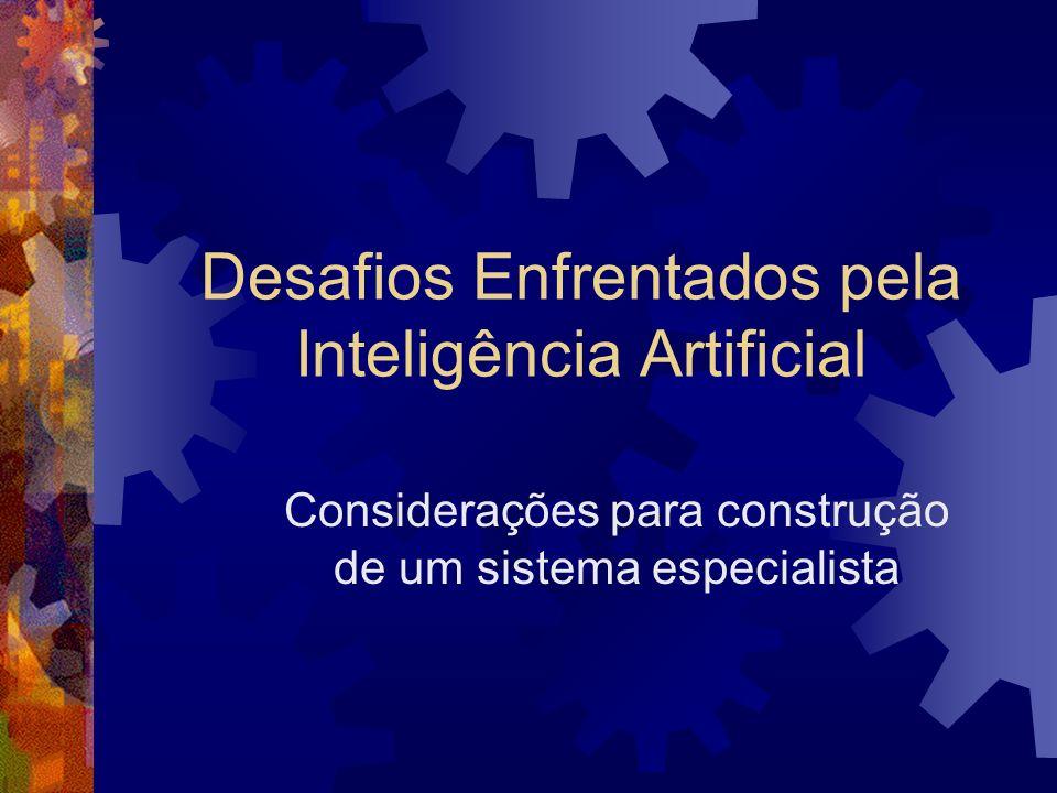 Desafios Enfrentados pela Inteligência Artificial