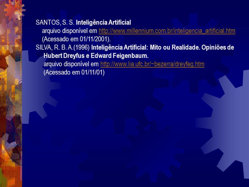 SANTOS, S. S. Inteligência Artificial