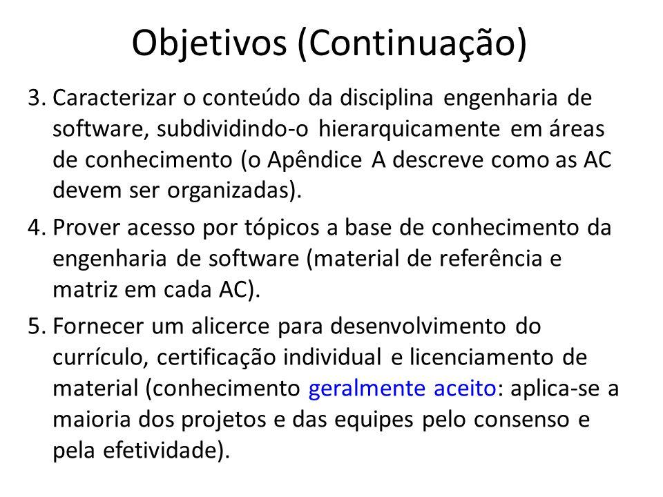 Objetivos (Continuação)