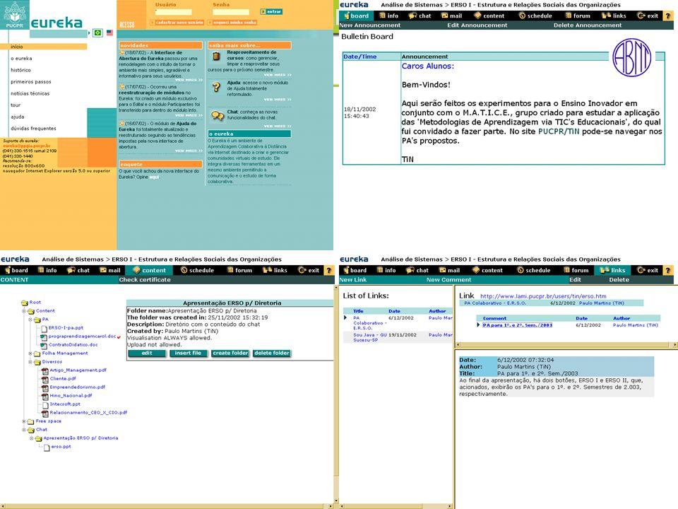 Internet Portal Links Conteúdo
