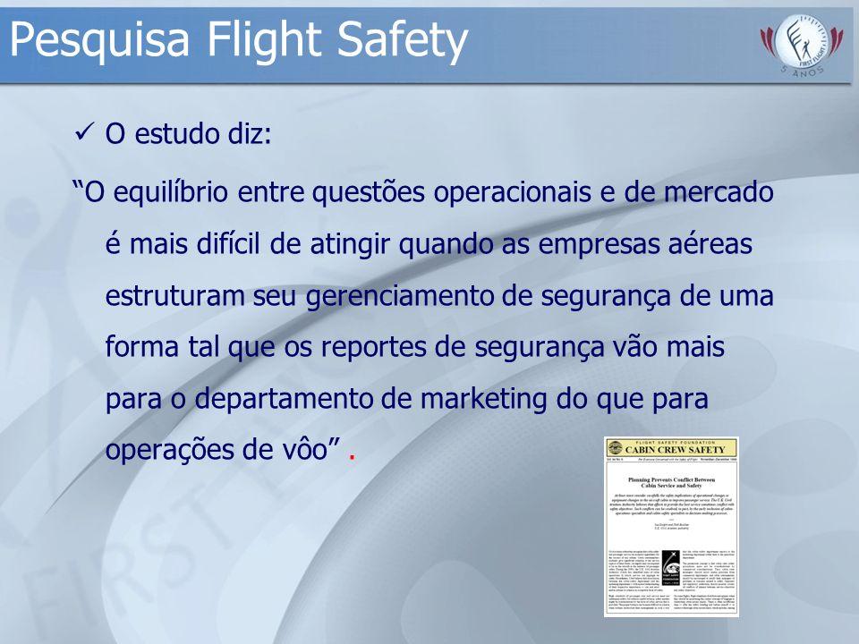 Pesquisa Flight Safety