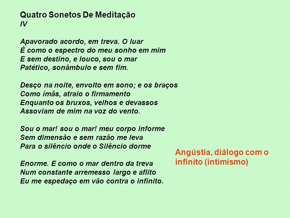 Quatro Sonetos De Meditação
