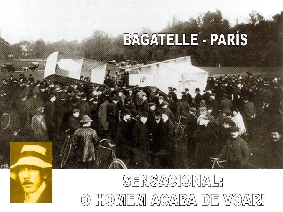 BAGATELLE - PARÍS SENSACIONAL: O HOMEM ACABA DE VOAR!