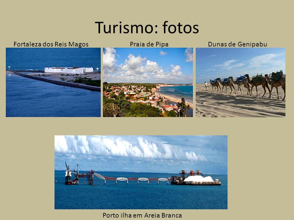 Porto ilha em Areia Branca