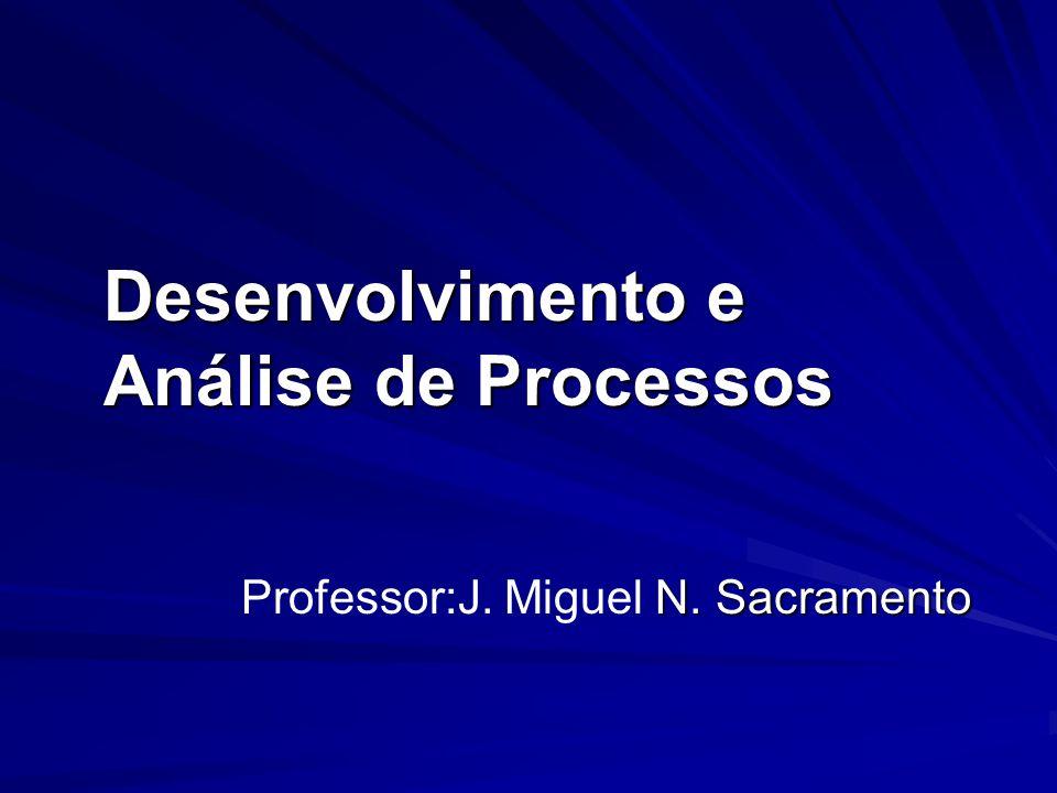 Desenvolvimento e Análise de Processos