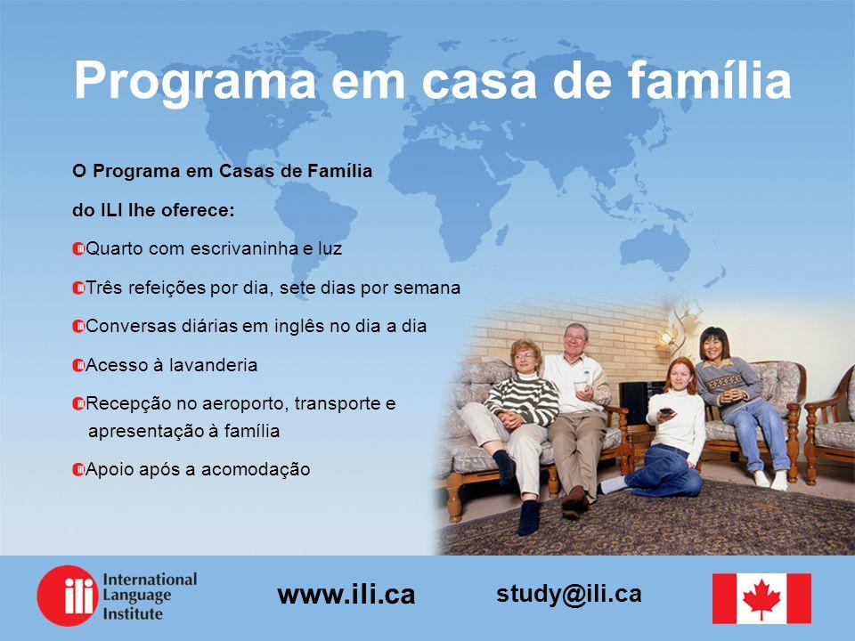 Programa em casa de família