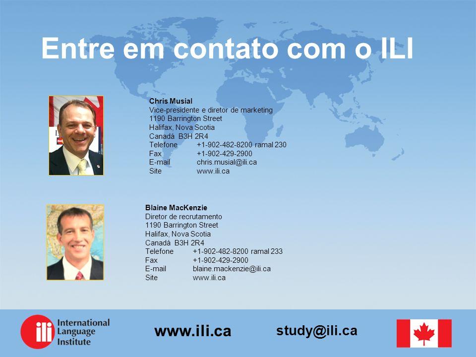 Entre em contato com o ILI