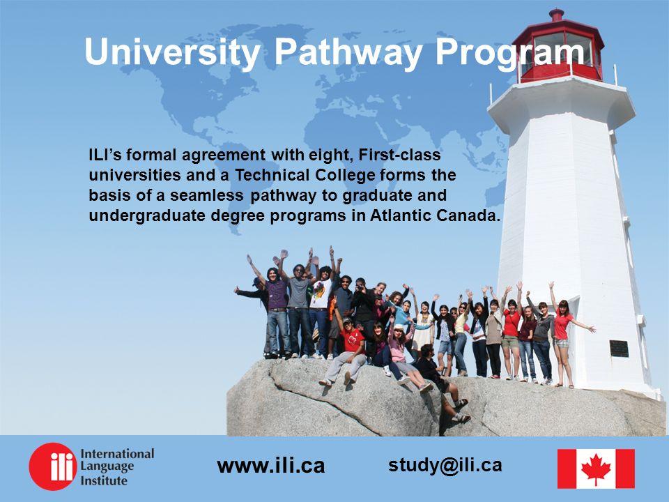 University Pathway Program