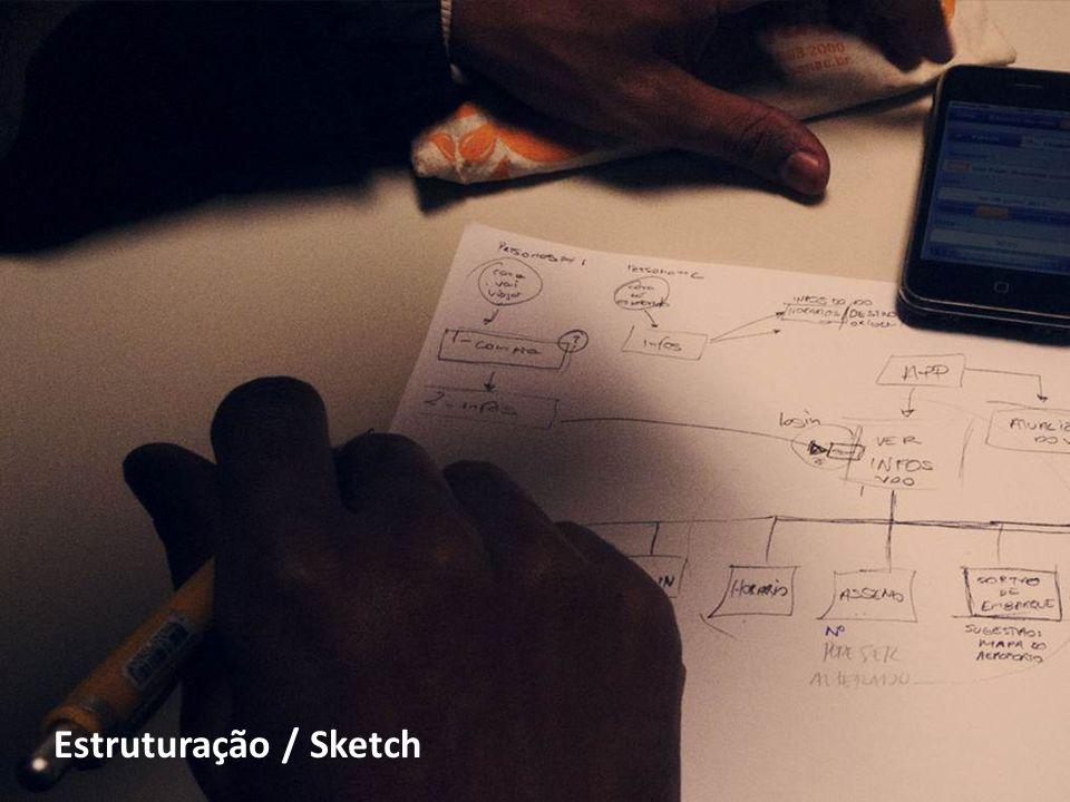 Estruturação / Sketch