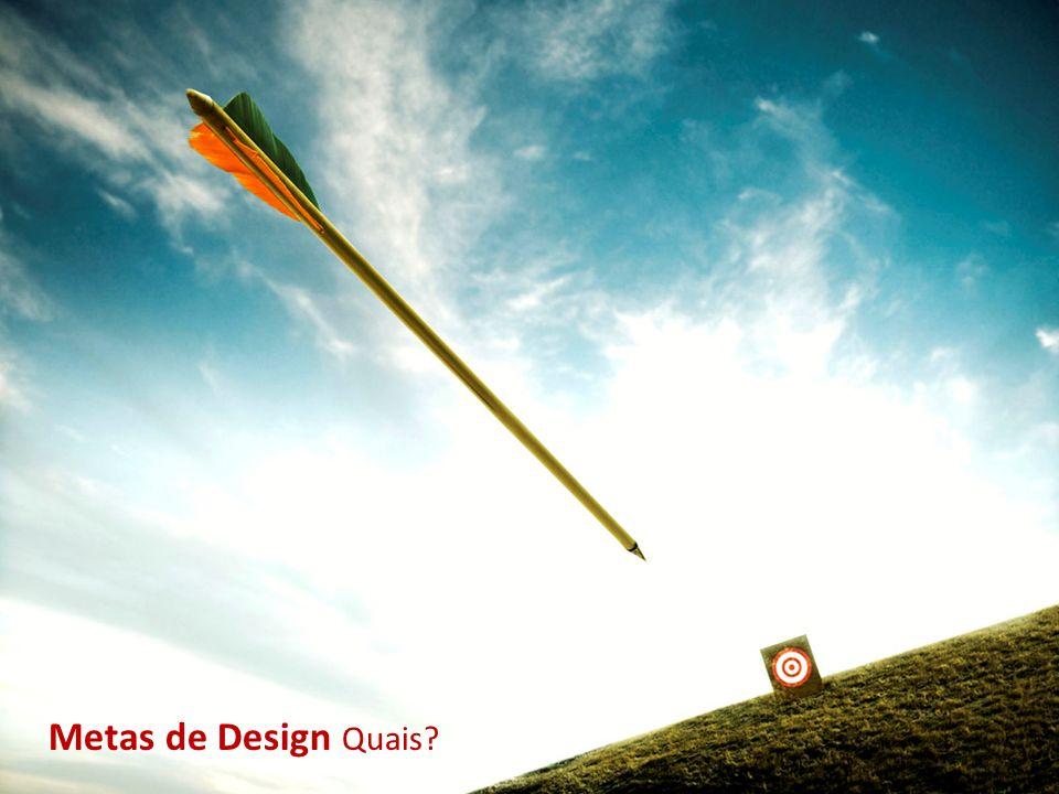 Metas de Design Quais