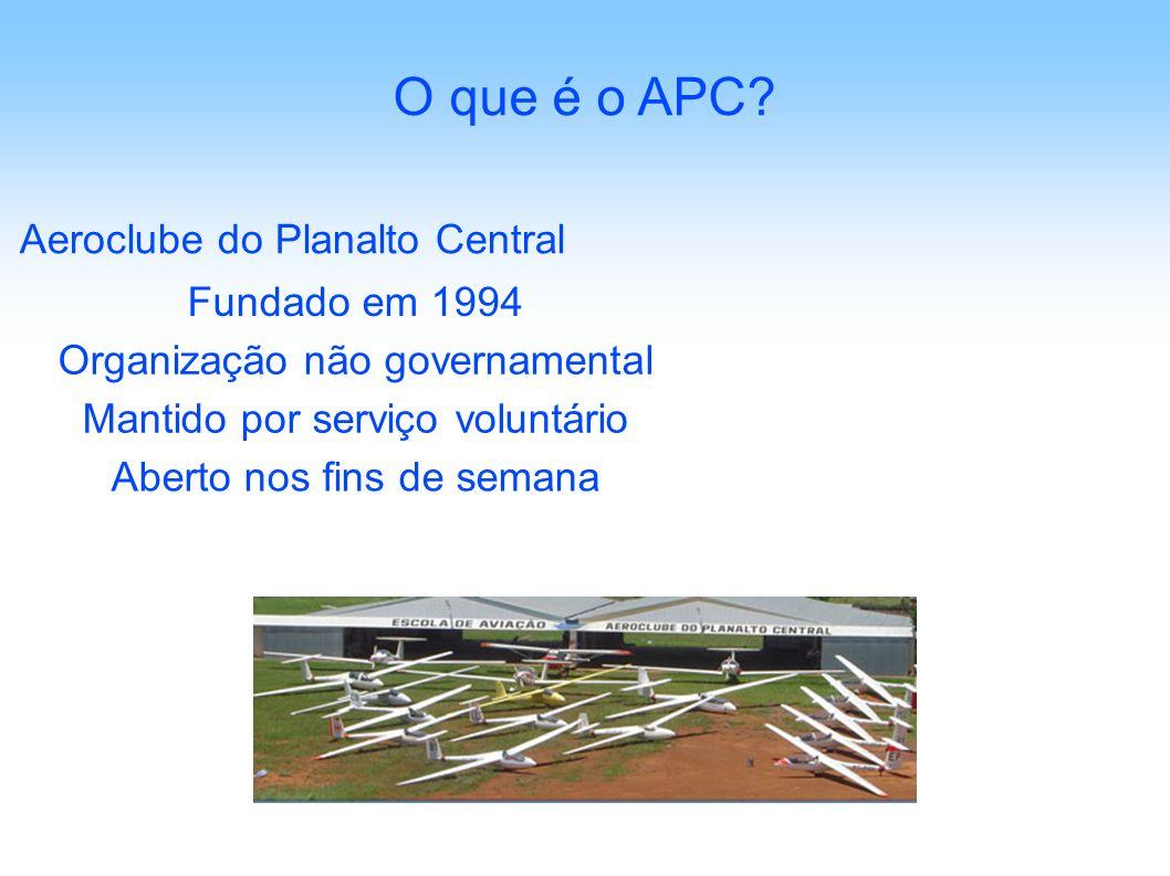 O que é o APC Aeroclube do Planalto Central Fundado em 1994