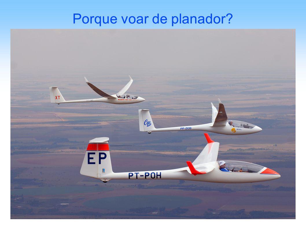 Porque voar de planador