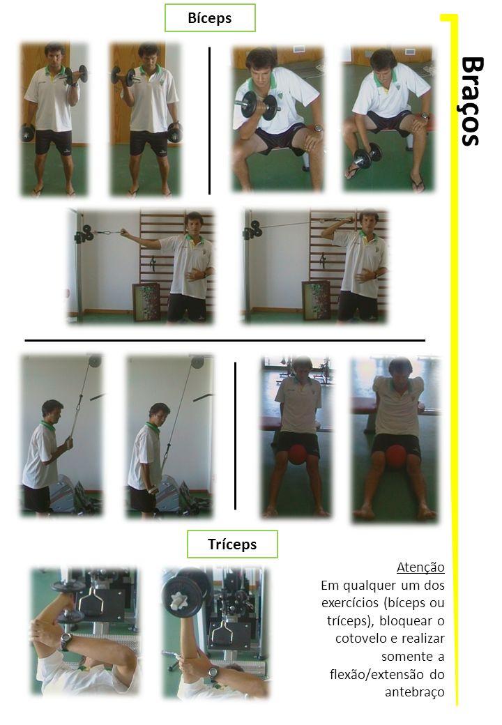 Braços Bíceps Tríceps Atenção